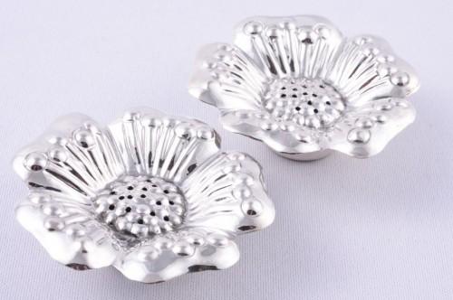 Set solnite floare cadou ieftin argint masiv