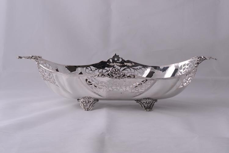 Cadouri argint masiv model perforat