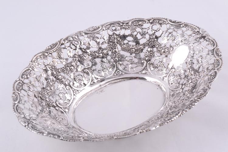 Cadouri deosebite bomboniera filigranata argint masiv