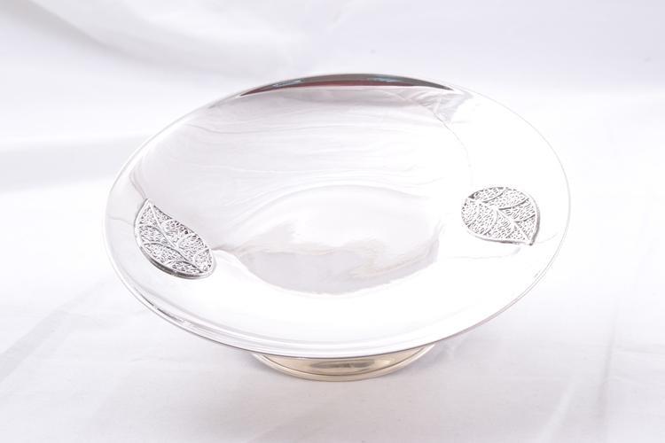 Cadouri argint masiv bomboniera model frunze filigran