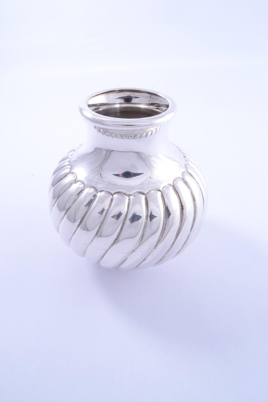 Vaza argint masiv