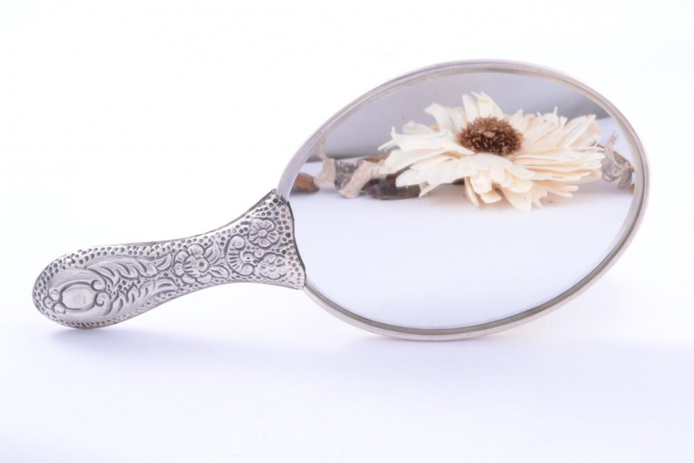 Oglinda poseta argint masiv