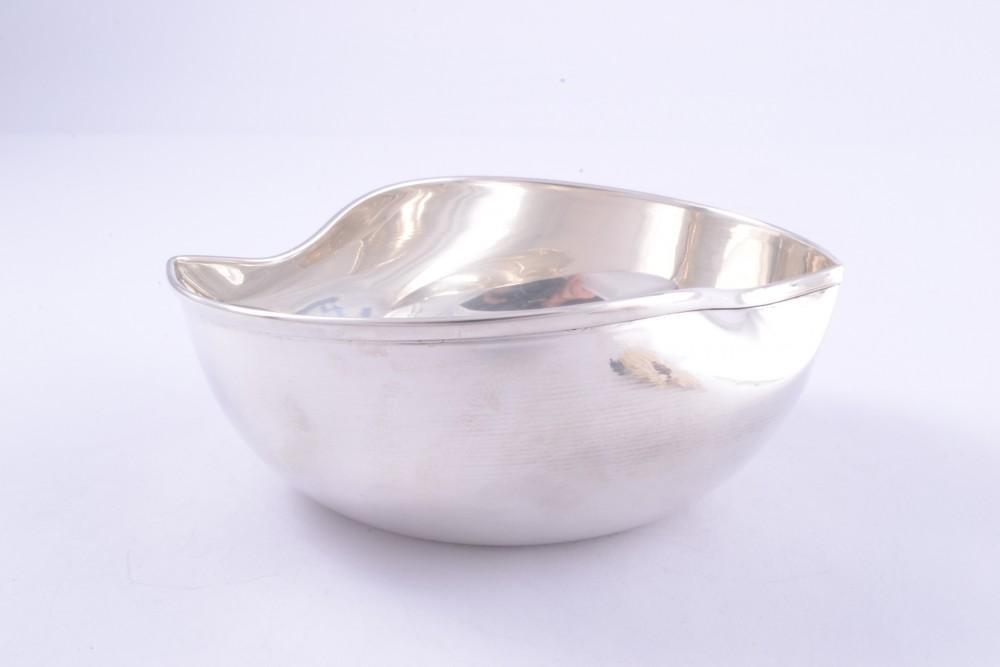 Bol argint masiv