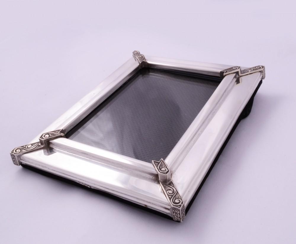 Obiecte  argint masiv rama foto