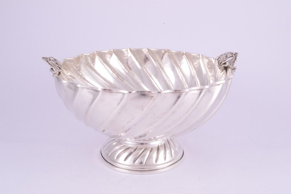 Fructiera obiecte argint masiv