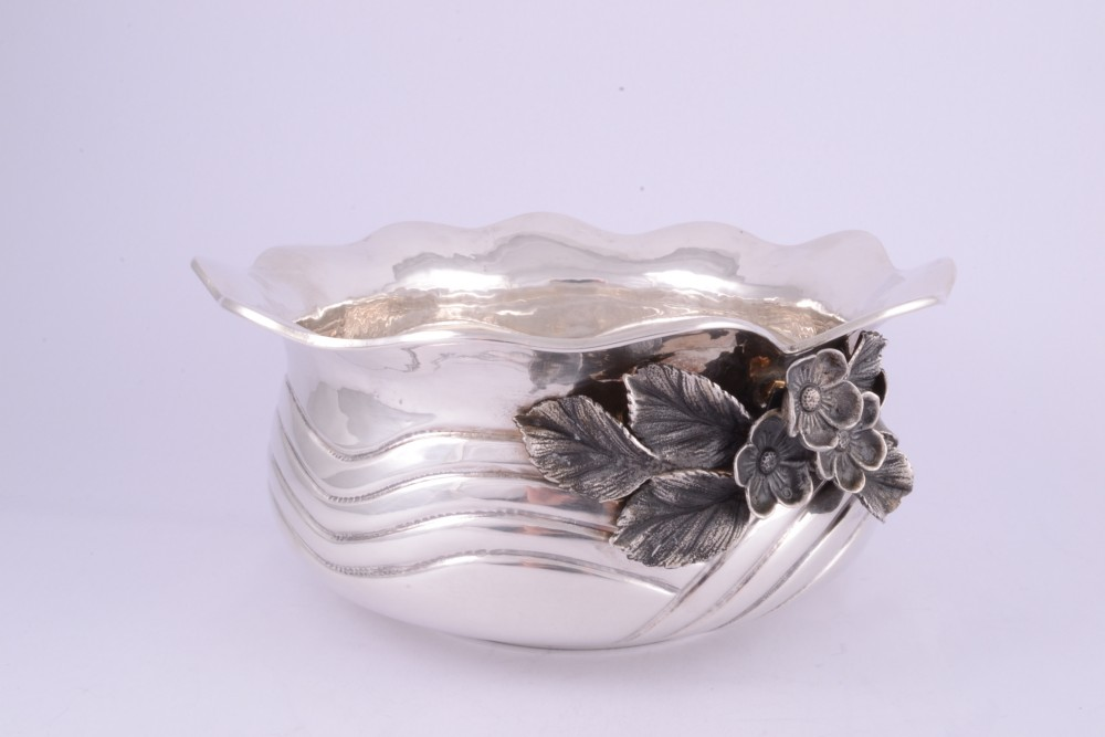 Obiecte argint masiv fructiera