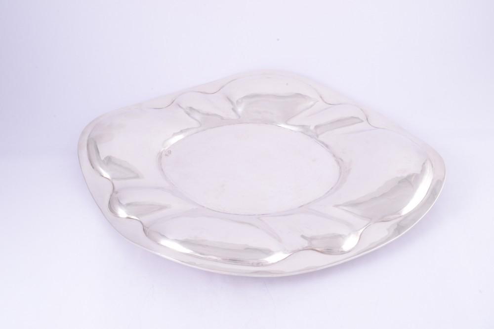 Tava argint masiv