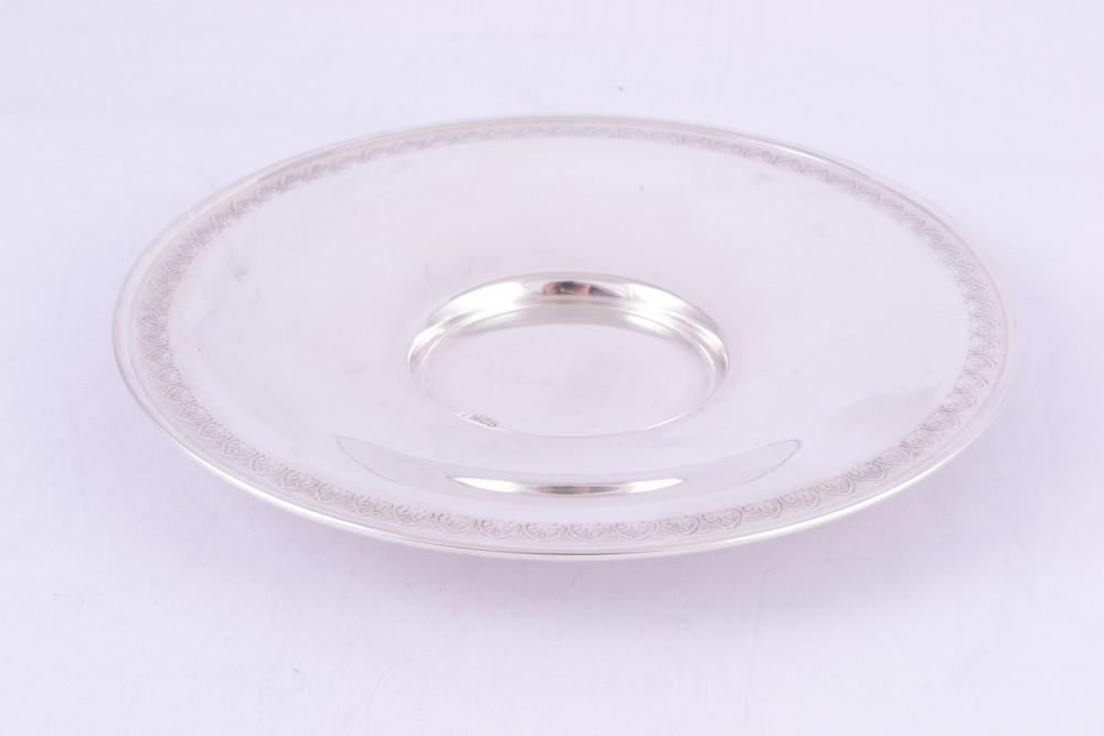 Tava-farfuriuta argint masiv