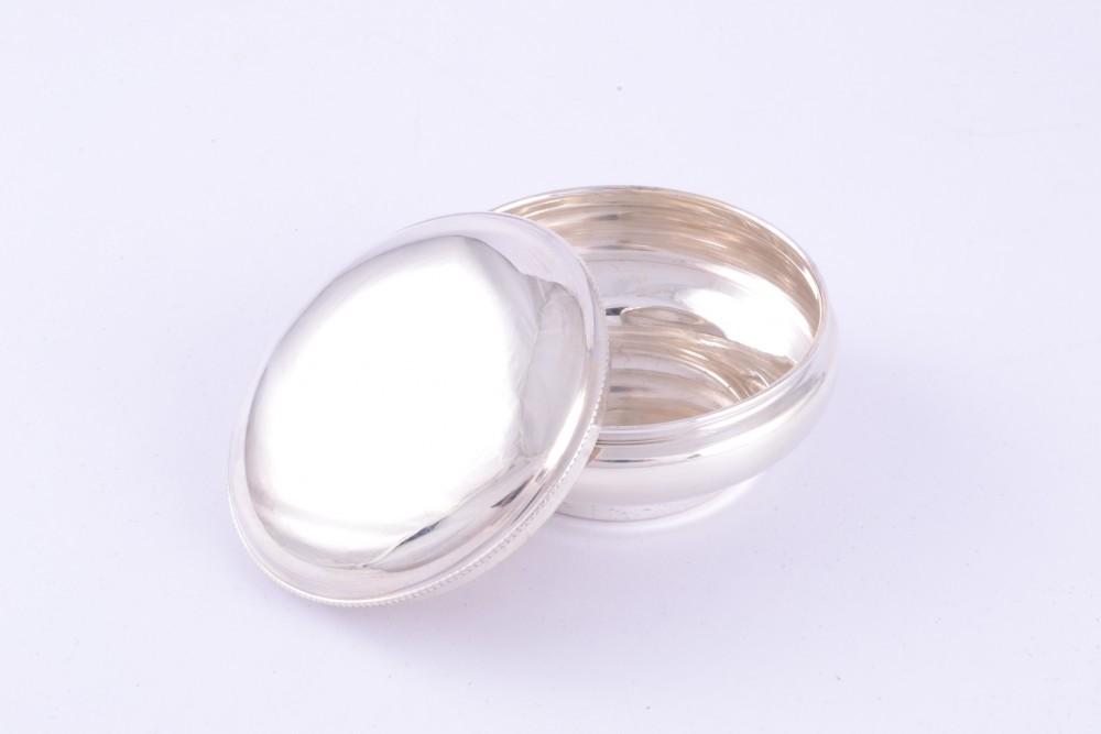 Obiecte  argint masiv cutiuta bijuterii