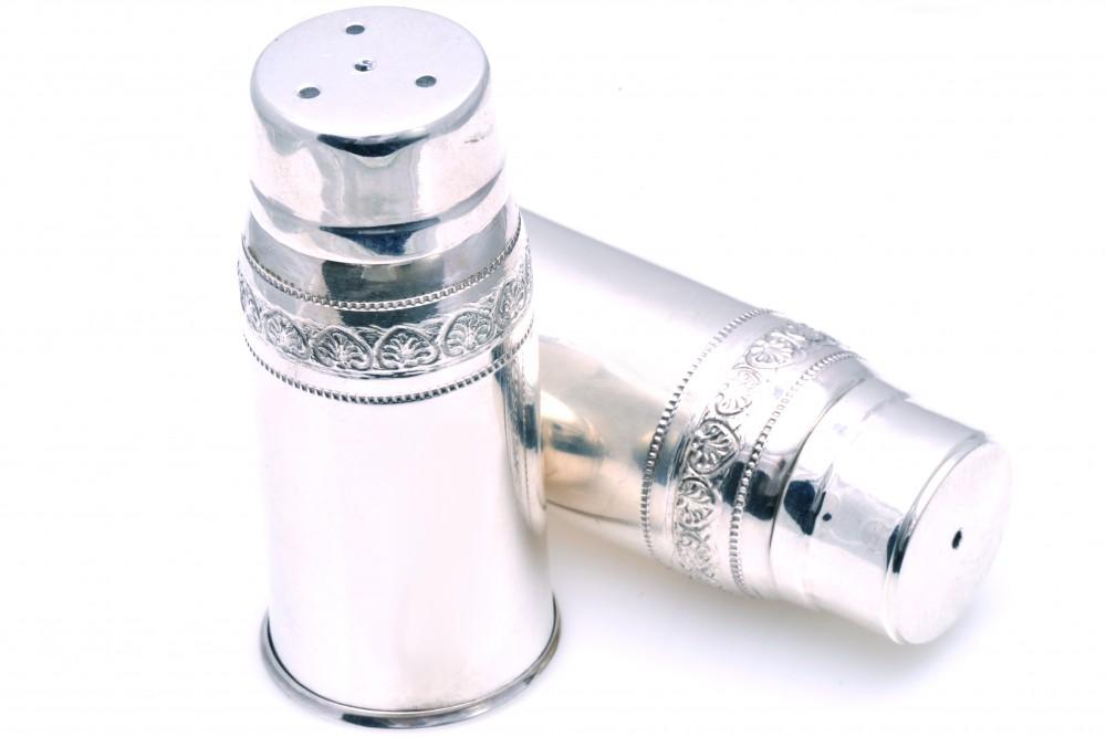 Set doua solnite argint masiv
