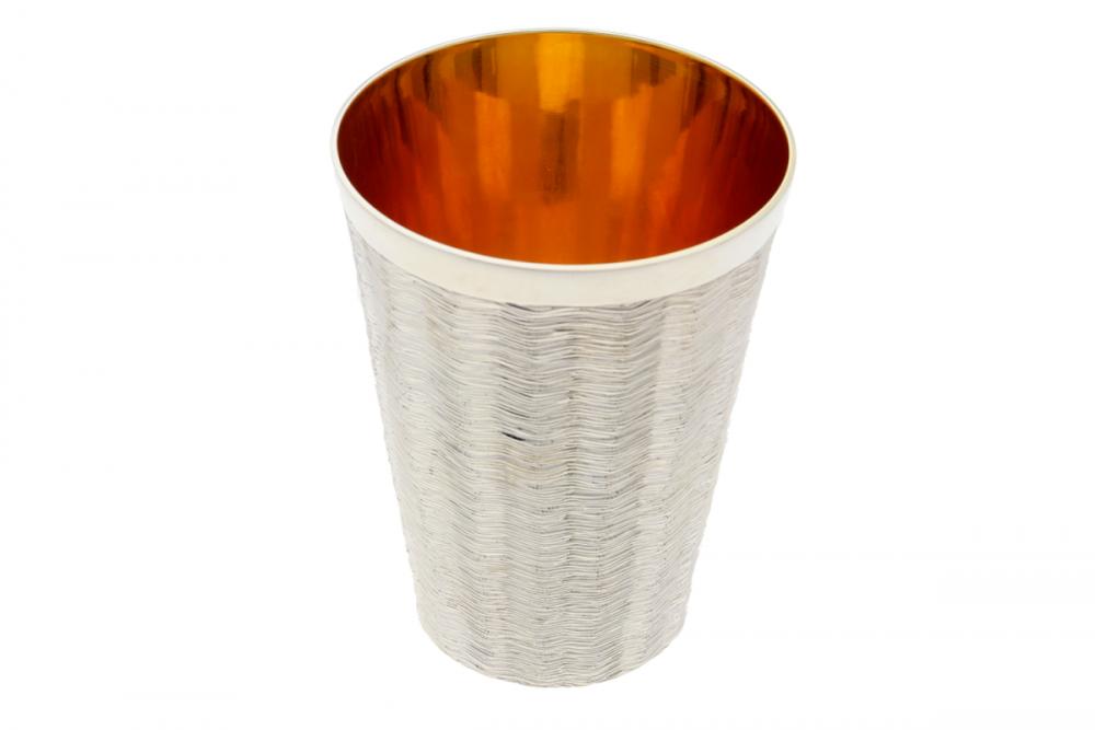 Pahar argint masiv interior aurit