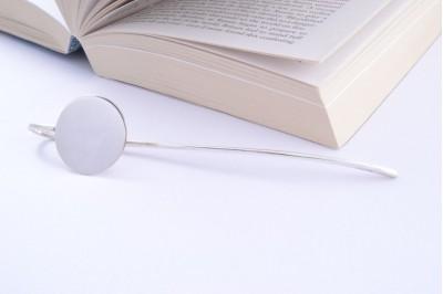 Semn de carte argint