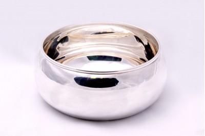Bomboniera-bol argint masiv